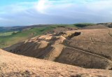 Cleve Common is a key geological site in the geopark